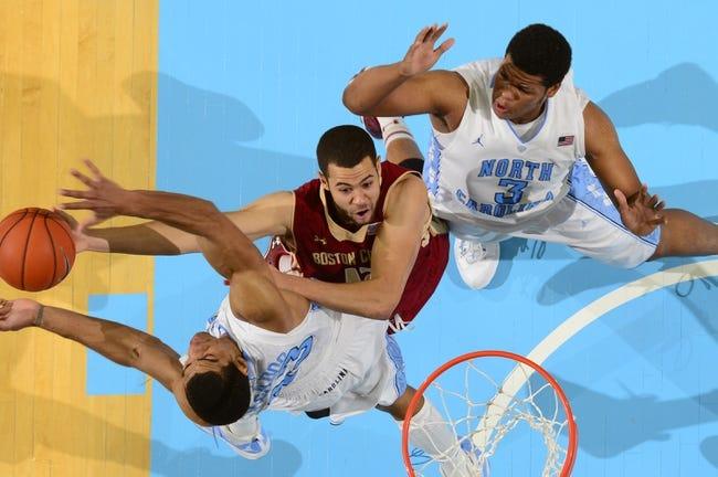 Boston College vs. North Carolina - 2/7/15 College Basketball Pick, Odds, and Prediction