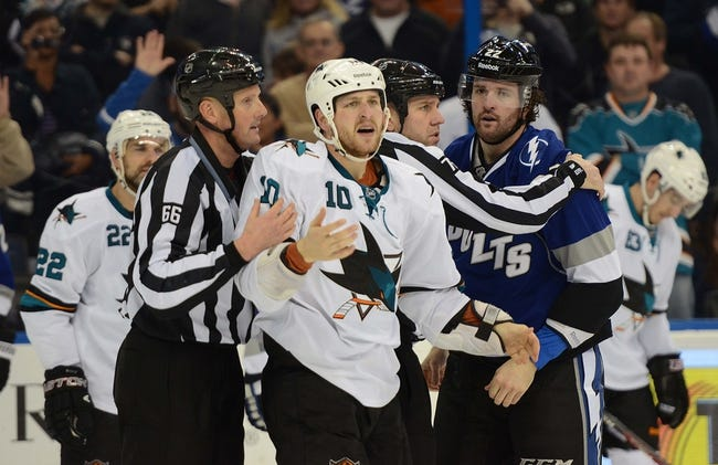 Lightning vs. Sharks - 11/13/14 NHL Pick, Odds, and Prediction