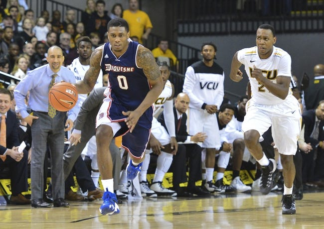 Duquesne vs. VCU - 1/17/15 College Basketball Pick, Odds, and Prediction