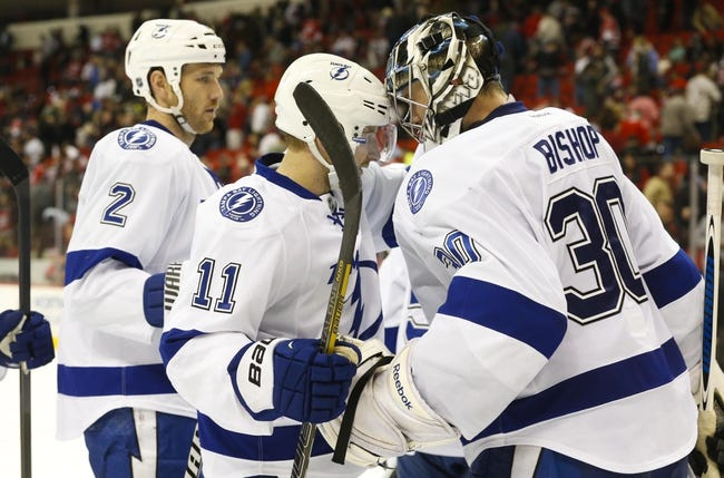 Tampa Bay Lightning vs. Carolina Hurricanes - 12/11/14 NHL Pick, Odds, and Prediction