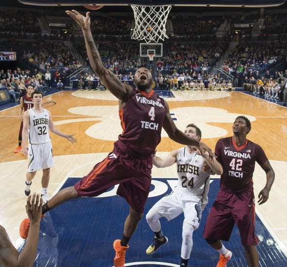 Virginia Tech Hokies vs. Notre Dame Fighting Irish - 1/22/15 College Basketball Pick, Odds, and Prediction