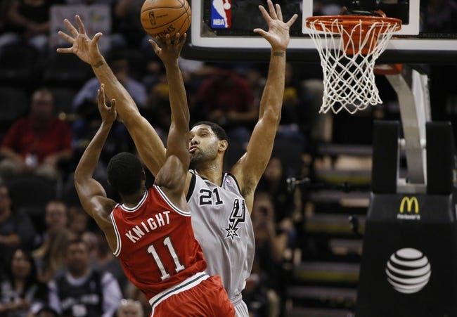 San Antonio Spurs vs. Milwaukee Bucks - 1/25/15 NBA Pick, Odds, and Prediction