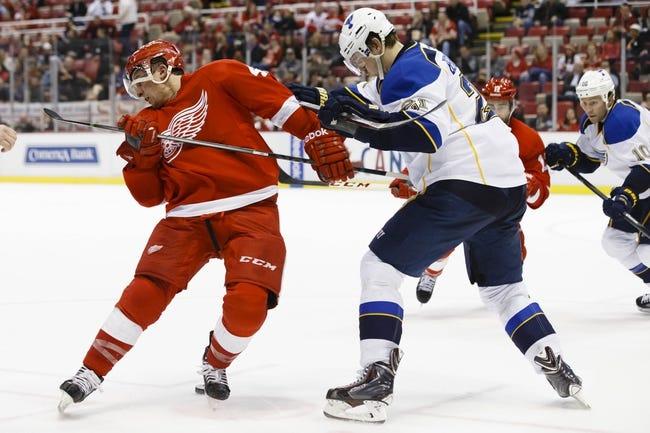 St. Louis Blues vs. Detroit Red Wings - 4/13/14