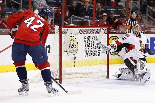 Washington Capitals vs. Ottawa Senators - 12/22/14 NHL Pick, Odds, and Prediction