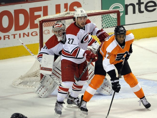 Philadelphia Flyers vs. Carolina Hurricanes - 4/13/14