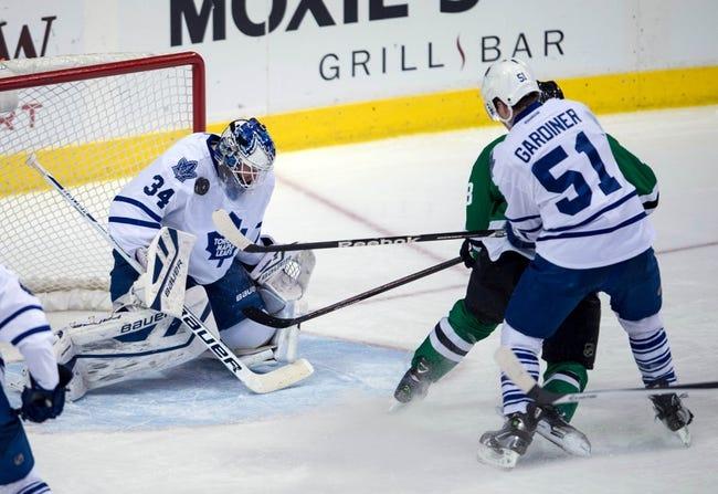 Toronto Maple Leafs vs. Dallas Stars - 12/2/14 NHL Pick, Odds, and Prediction