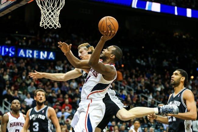 San Antonio Spurs vs. Atlanta Hawks 10/22/14 NBA Preseason Pick, Odds, Prediction