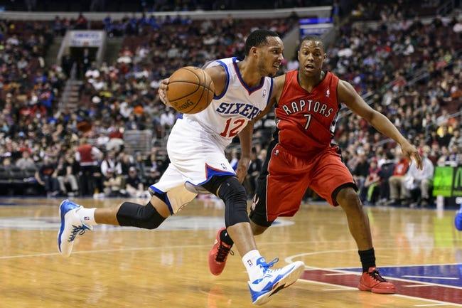 Toronto Raptors vs. Philadelphia 76ers - 4/9/14
