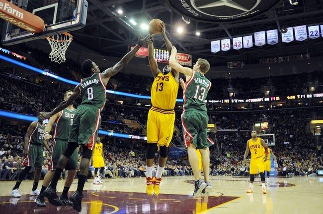 Milwaukee Bucks vs. Cleveland Cavaliers NBA Pick, Odds, Prediction 4/11/14