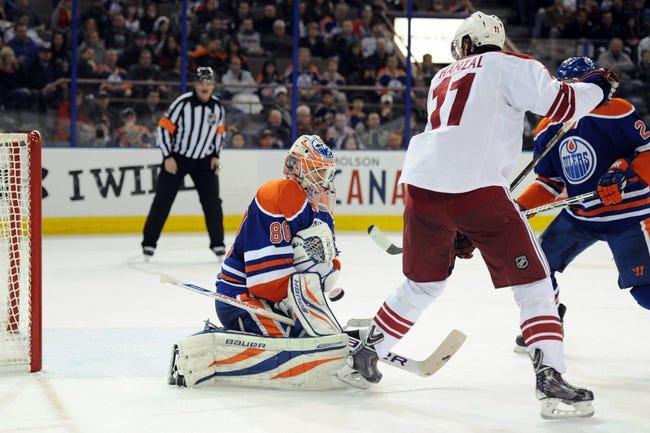 Phoenix Coyotes vs. Edmonton Oilers Pick-Odds-Prediction - 4/4/14