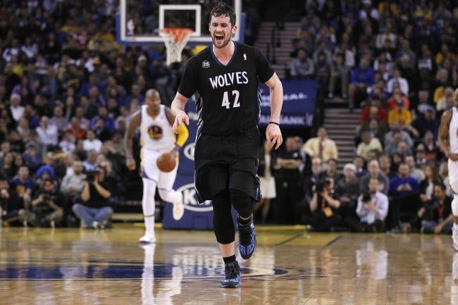 Golden State Warriors vs. Minnesota Timberwolves - 4/14/14