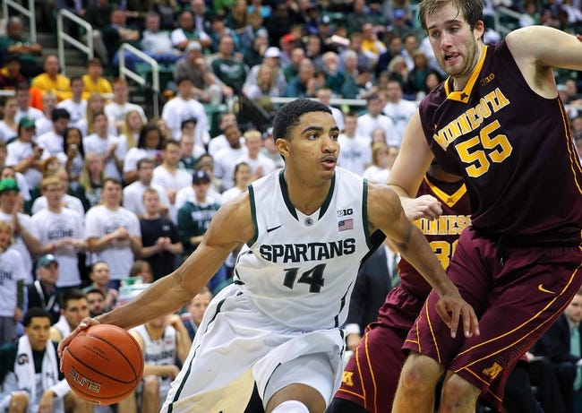 Michigan State vs. Minnesota - 2/26/15 College Basketball Pick, Odds, and Prediction