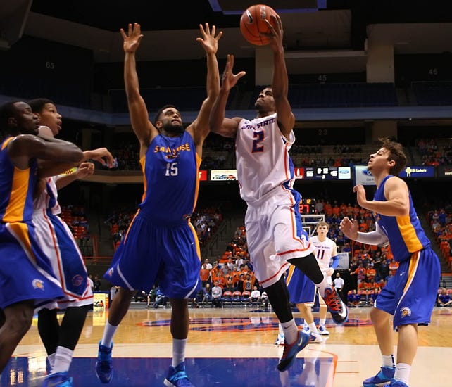 Boise State vs. San Jose State - 1/21/15 College Basketball Pick, Odds, and Prediction