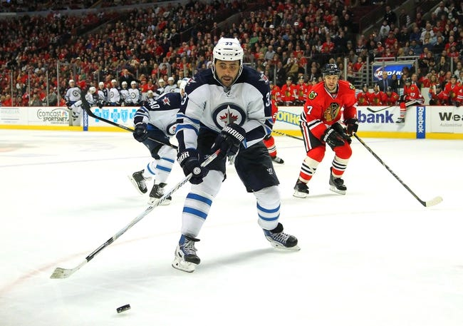 Chicago Blackhawks vs. Winnipeg Jets - 11/2/14 NHL Pick, Odds, and Prediction