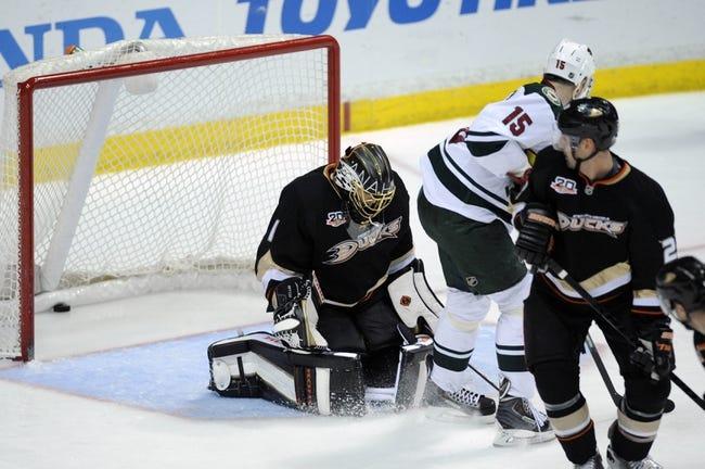 Anaheim Ducks vs. Minnesota Wild - 10/17/14