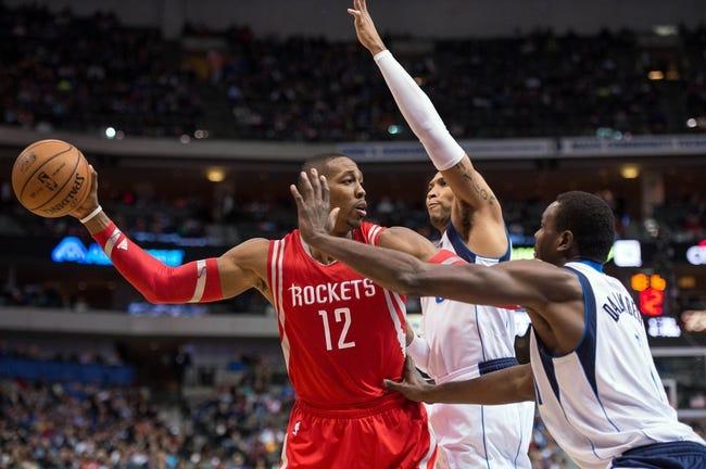 Houston Rockets vs. Dallas Mavericks - 10/7/14 NBA Preseason Pick, Odds, Prediction