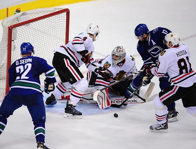 Canucks vs. Blackhawks - 11/23/14 NHL Pick, Odds, and Prediction