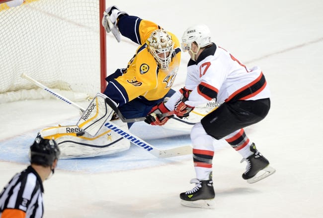NHL | Nashville Predators (41-16-7) at New Jersey Devils (26-27-10)