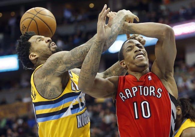 Raptors vs. Nuggets - 12/8/14 NBA Pick, Odds, and Prediction