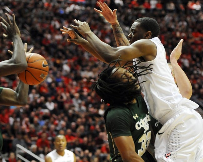 Colorado State vs. San Diego State - 1/24/15 College Basketball Pick, Odds, and Prediction