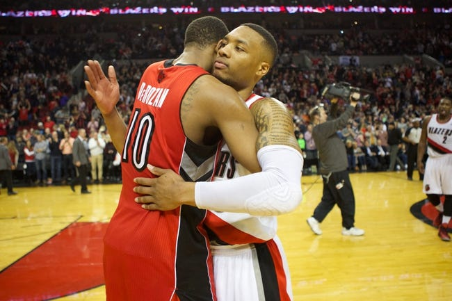 Trail Blazers vs. Raptors - 12/30/14 NBA Pick, Odds, and Prediction