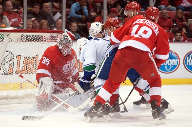 Detroit Red Wings vs. Vancouver Canucks - 11/30/14 NHL Pick, Odds, and Prediction