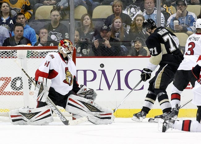 Pittsburgh Penguins vs. Ottawa Senators - 4/13/14