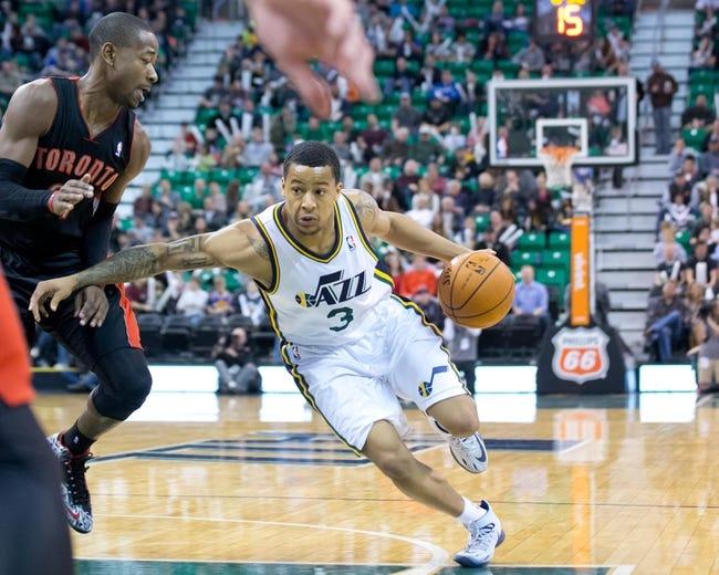 Toronto Raptors vs. Utah Jazz - 11/15/14 NBA Pick, Odds, and Prediction