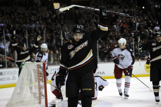 NHL | Anaheim Ducks (46-21-7) at Columbus Blue Jackets (33-35-4)