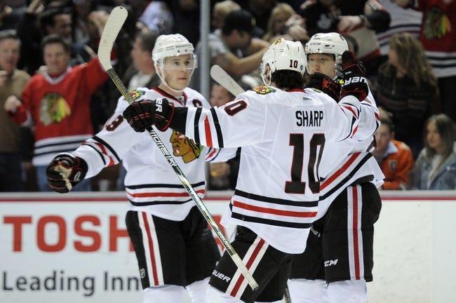 Chicago Blackhawks vs. Anaheim Ducks - 10/28/14 NHL Pick, Odds, and Prediction