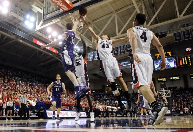 Portland vs. Gonzaga - 1/3/15 College Basketball Pick, Odds, and Prediction