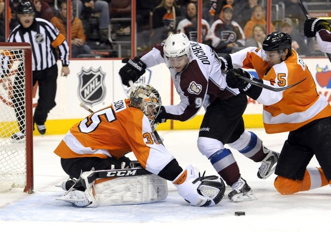 Philadelphia Flyers vs. Colorado Avalanche - 11/10/15 NHL Pick, Odds, and Prediction