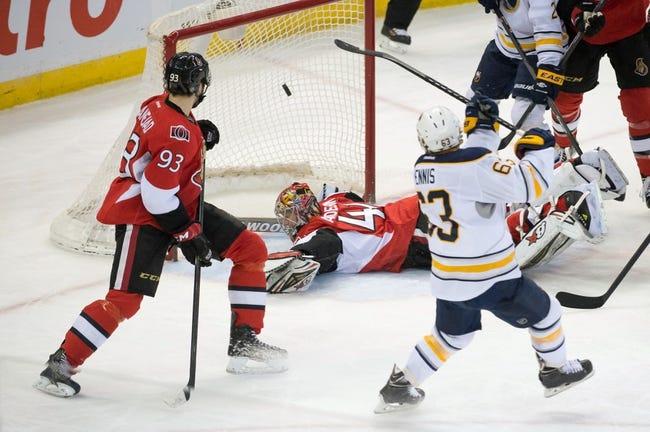 Buffalo Sabres vs. Ottawa Senators - 12/15/14 NHL Pick, Odds, and Prediction