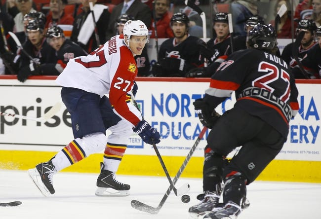 Carolina Hurricanes vs. Florida Panthers - 3/14/15 NHL Pick, Odds, and Prediction