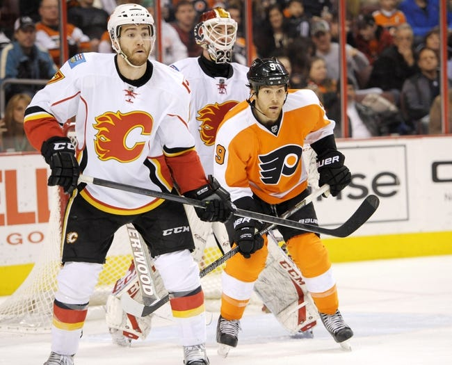 Calgary Flames vs. Philadelphia Flyers - 3/19/15 NHL Pick, Odds, and Prediction