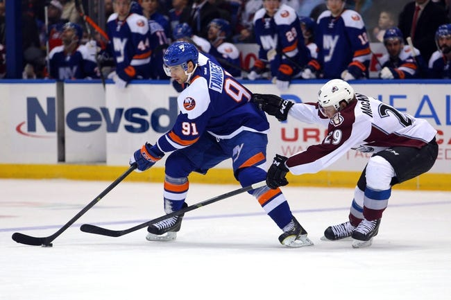 Colorado Avalanche vs. New York Islanders - 10/30/14 NHL Pick, Odds, and Prediction