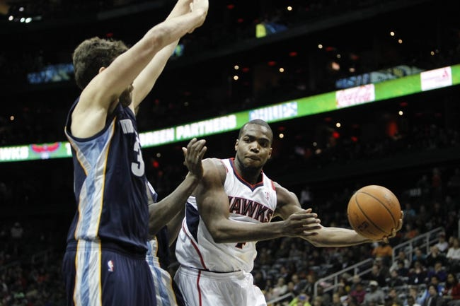 Atlanta Hawks vs. Memphis Grizzlies - 10/11/14 NBA Preseason Pick, Odds, Prediction