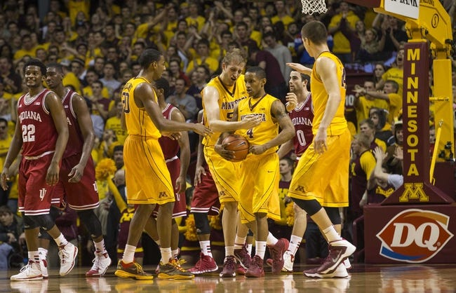 Indiana vs. Minnesota - 2/15/15 College Basketball Pick, Odds, and Prediction