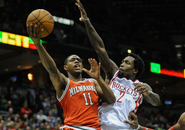 Milwaukee Bucks vs. Houston Rockets - 11/29/14 NBA Pick, Odds, and Prediction