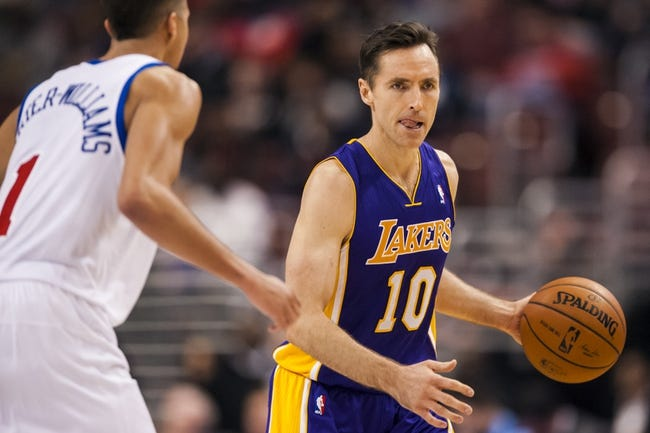 Philadelphia 76ers vs. Los Angeles Lakers - 3/30/15 NBA Pick, Odds, and Prediction