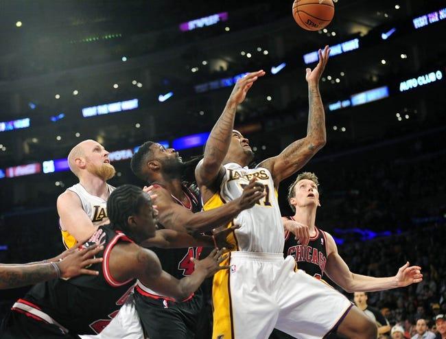 Bulls vs. Lakers - 12/25/14 NBA Pick, Odds, and Prediction