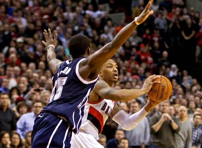 Portland Trail Blazers vs. Oklahoma City Thunder - 10/29/14 NBA Pick, Odds, and Prediction