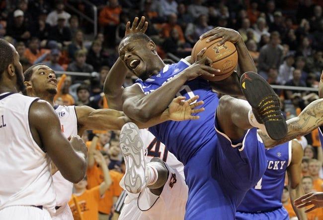 Kentucky vs. Auburn - 2/21/15 College Basketball Pick, Odds, and Prediction