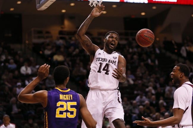 Texas A&M vs. College of Charleston - 11/21/14 College Basketball Pick, Odds, and Prediction