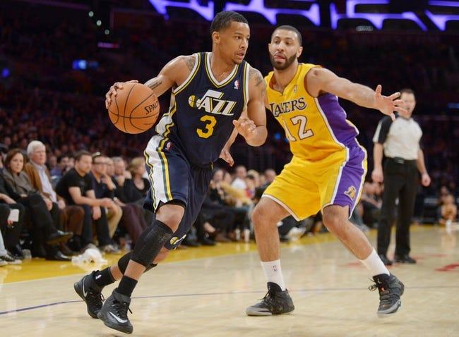 Utah Jazz vs. Los Angeles Lakers - 4/14/14