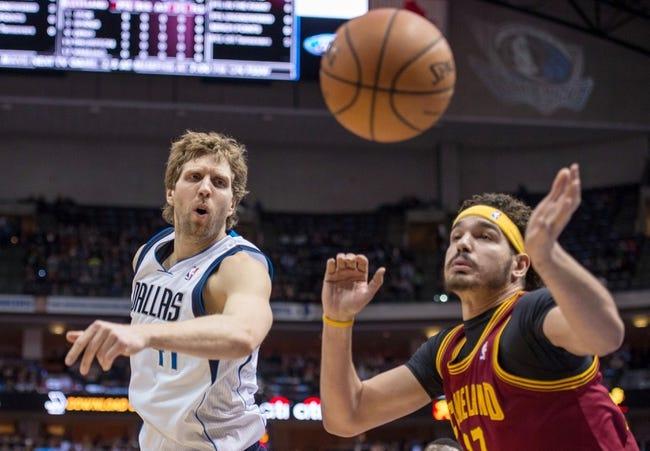 Cleveland Cavaliers vs. Dallas Mavericks 10/17/14 NBA Preseason Pick, Odds, Prediction