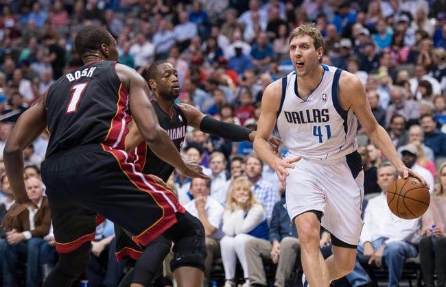 Mavericks at Heat - 1/1/16 NBA Pick, Odds, and Prediction