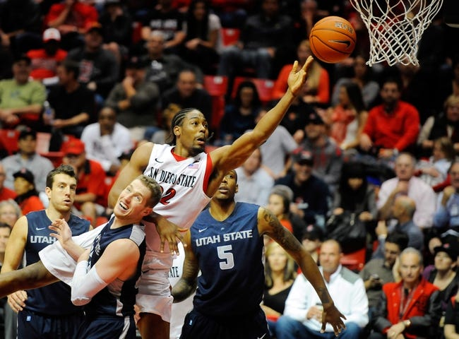 San Diego State vs. Utah State - 1/31/15 College Basketball Pick, Odds, and Prediction