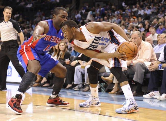 Pistons vs. Hornets - 10/15/14 NBA Preseason Pick, Odds, Prediction