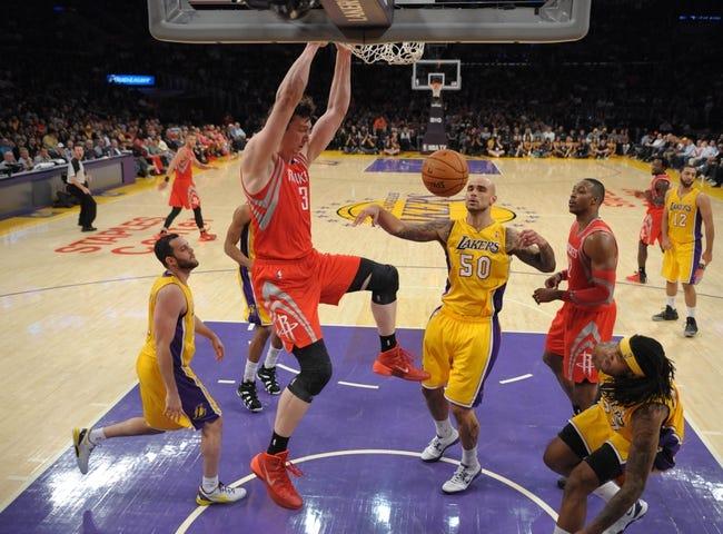Los Angeles Lakers vs. Houston Rockets - 4/8/14